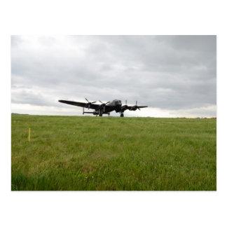 Avro Lancaster Mit einem Taxi fahren Postkarte