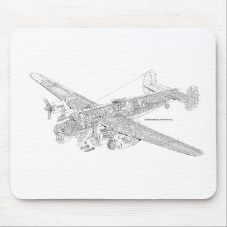 Avro Shakelton Gutaway Mousepad