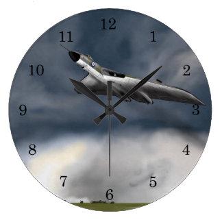 Avro Vulcan Bomber Große Wanduhr