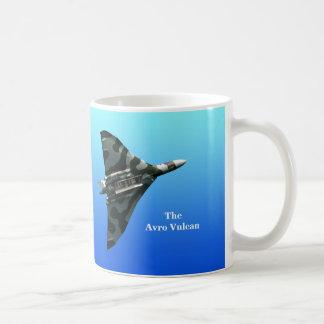 Avro Vulcan Bomber mit Ihrem Monogramm Kaffeetasse