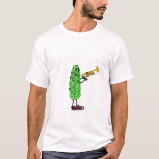 AVW, Essiggurke, die den Trompete-T - Shirt spielt