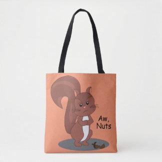 """""""Aw-Nuss-"""" Eichhörnchen Tasche"""