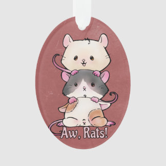 Aw, Ratten! Ornament