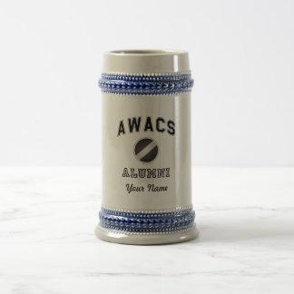 Awacs-Schüler Bierglas