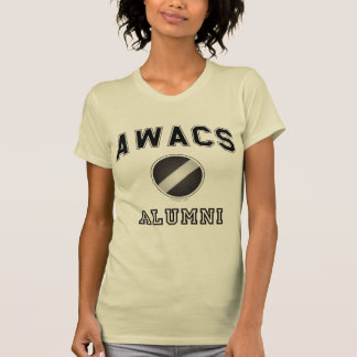 Awacs-Schüler, dunkler Text auf Farbe T-Shirt