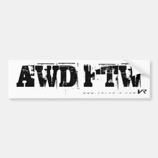 AWD FTW AUTOAUFKLEBER