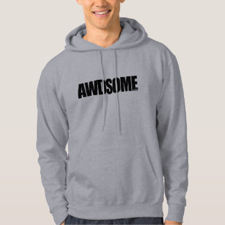 awdsome Grau Hoodie