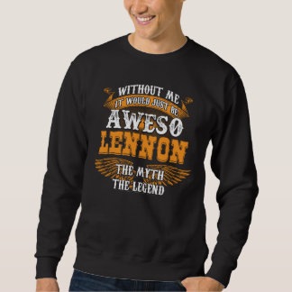 Aweso LENNON eine wahre lebende Legende Sweatshirt