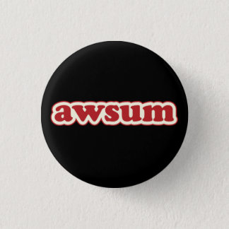 Awsum Lolcat sprechen Flair Pinback Knopf Runder Button 2,5 Cm