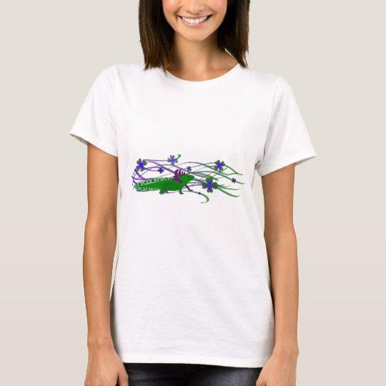 Axolotl Grün im Glück T-Shirt