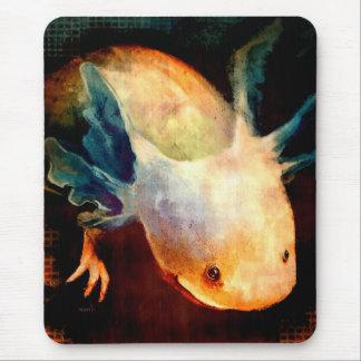 Axolotl Sun Mousepad