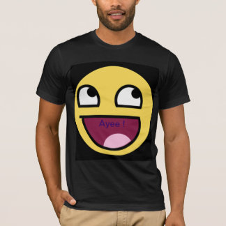 "'Ayee!"" Smiley T-Shirt"