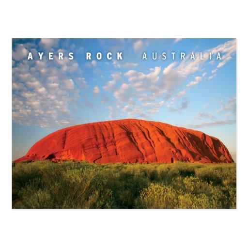 ayers felsen in australien postkarte zazzle. Black Bedroom Furniture Sets. Home Design Ideas
