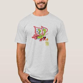 Ayin die Motte, Hebräer Aleph gewettet (Alphabet) T-Shirt