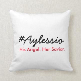 #Aylessio, sein Engel, ihr Retter Kissen