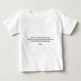 Ayn Rand-Zitat Baby T-shirt