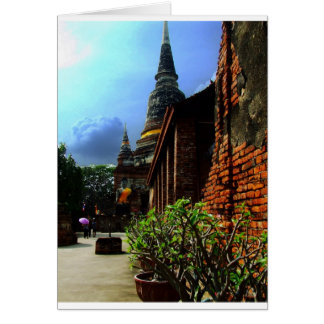 Ayutthaya. Wat Yai Chai Mongkol. Karte