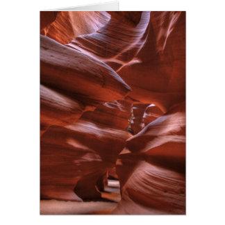 AZ, Arizona, Seite, obere Antilopen-Schlucht Karte