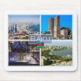AZ Aserbaidschan - Baku - Erstturm - Mousepad