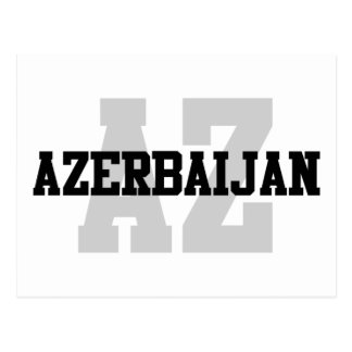 AZ Aserbaidschan Postkarte