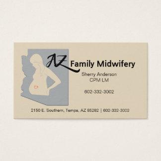 AZ Familien-Geburtshilfe Visitenkarte