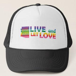 AZ leben gelassene Liebe Truckerkappe