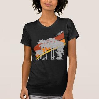 AZ Palmen-Grau Silouhettes T-Shirt