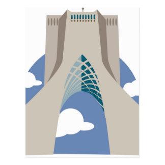 Azadi Turm Teheran Postkarte