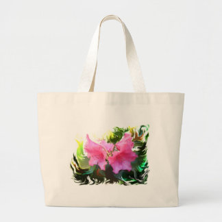 Azalee Blume Jumbo Stoffbeutel