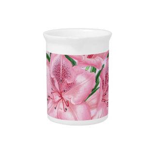 Azalee rosa Romance Getränke Pitcher