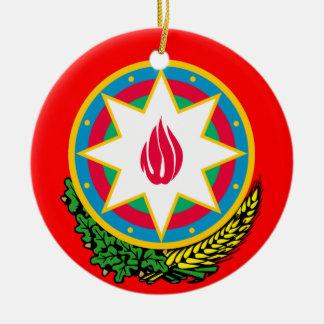 AZERBAIJAN*-, kundenspezifische Rundes Keramik Ornament