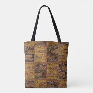 Azeri geometrische Teppich-Tasche Tasche