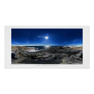 Azimut-Hügel, Kap Denison, die Antarktis Poster