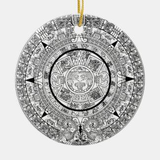 aztec_calender keramik ornament
