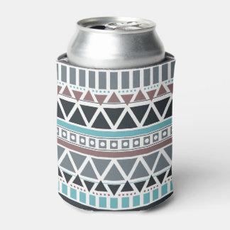 Azteke inspiriertes Muster kann cooler Dosenkühler