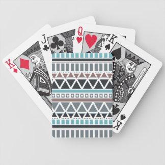 Azteke-inspiriertes Muster-Spielkarten Bicycle Spielkarten