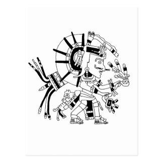 Azteke Postkarte