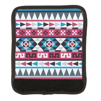 Aztekische Art-geometrisches Muster Gepräckgriffwickel