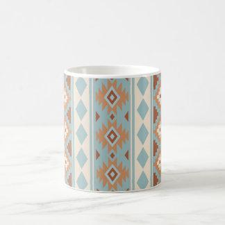 Aztekische blaue Sahneterrakotta des Wesentlich-V Kaffeetasse