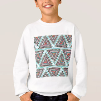 Aztekische Dreiecke Sweatshirt