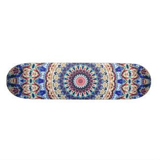 Aztekische Geometrie 21,6 Cm Skateboard Deck