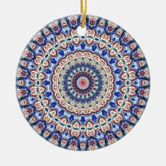 Aztekische Geometrie Keramik Ornament