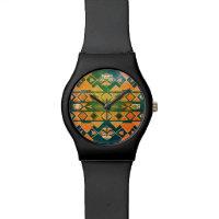 Aztekische Küsten-Entwurfs-Uhr