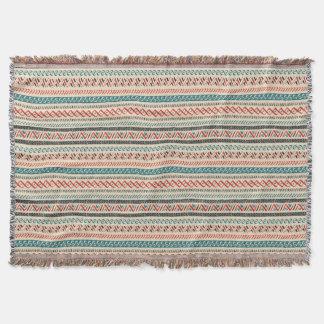 Aztekische Muster-Wurfsdecken Decke