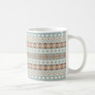 Aztekische Wesentliches Ptn IIIb blaue Kaffeetasse