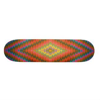 Aztekischer cooler geometrischer Entwurf Personalisiertes Deck