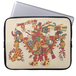 Aztekischer Gott Laptopschutzhülle