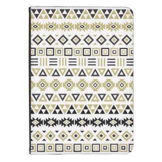 Aztekisches Art-Muster II (b) - Schwarz-weiß u. Kindle Hülle