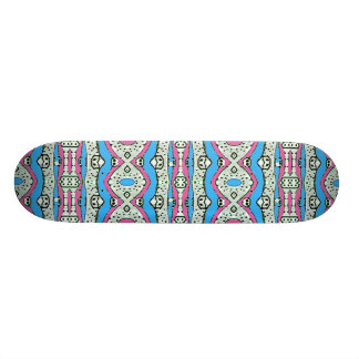 Aztekisches Art-Muster in den Pastellfarben Individuelle Decks