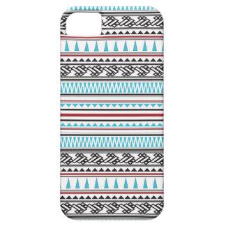 Aztekisches geometrisches Fischgrätenmuster-Muster Etui Fürs iPhone 5